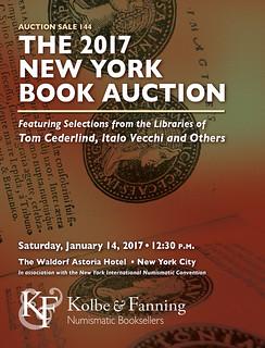 KOLBE & FANNING'S 2017 NEW YORK BOOK AUCTION