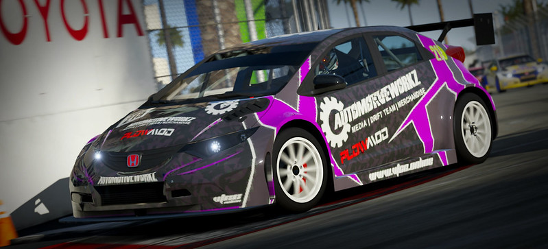 VTCC Spec Series 10 - #5 Zengo Motorsports Honda Civic WTCC 31218333886_08b2b4795c_c
