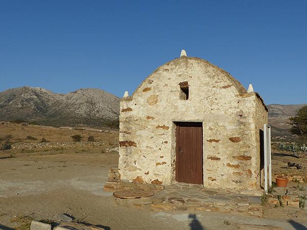 petit bâtiment près du temple de  demeter