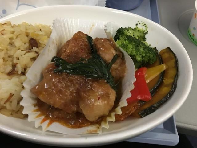 雞肉口味的飛機餐