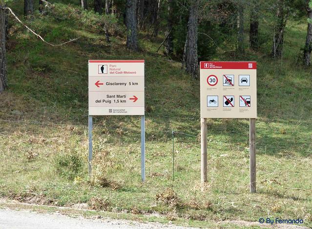 Gresolet a Bagà -32- Carretera de Gliscareny (05-10-2016)