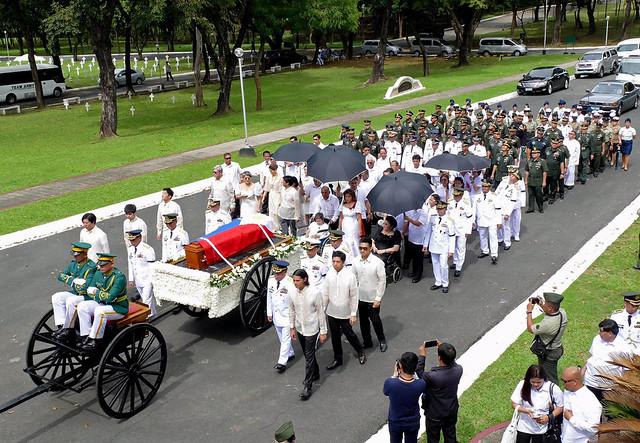 Ferdinand Marcos funeral
