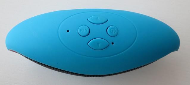 Bluetooth speaker bovenkant