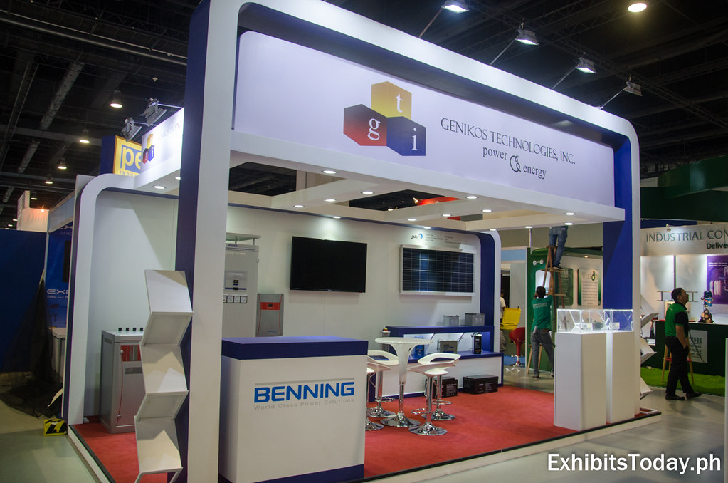 Genikos Technologies Exhibit Booth
