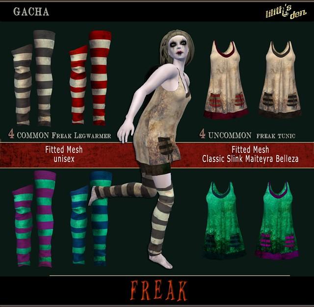 Lilith's Den Gacha - Freak