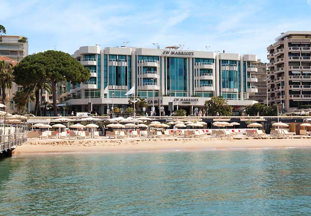 Exterior View of the JW Marriott Cannes