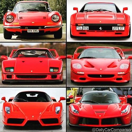 Evolution At Its Finest Dailycarcomparison Ferrari Enzo