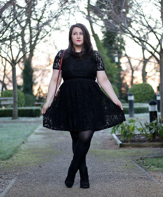 Black dress HOF