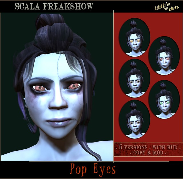 Lilith's Den - Scala Freakshow - Pop Eyes