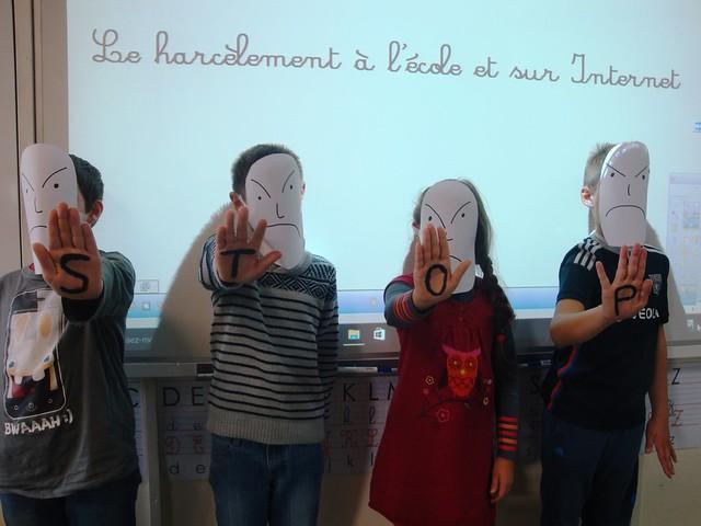 Les élèves de l'école de Pouilly-sous-Charlieu sensibilisés au harcèlement