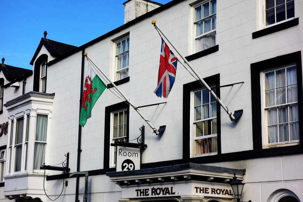 Royal Hotel, Llangollen, Wales