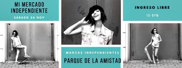 Feria Marcas Independientes - Parque de la Amistad - Surco