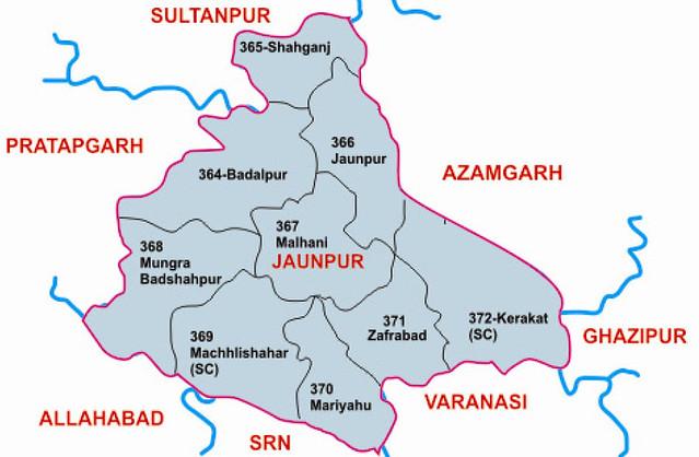 Jaunpur district Uttar Pradesh Election 2017