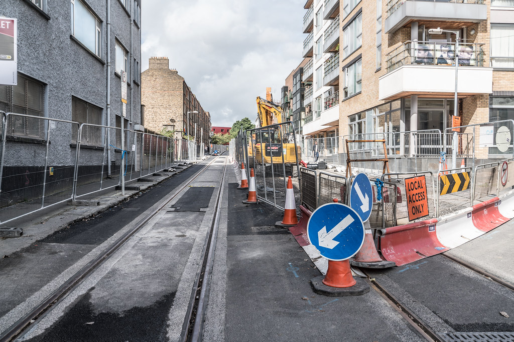 LUAS TRAM SYSTEM CONSTRUCTION PHASE [UPPER DOMINICK STREET]-123233