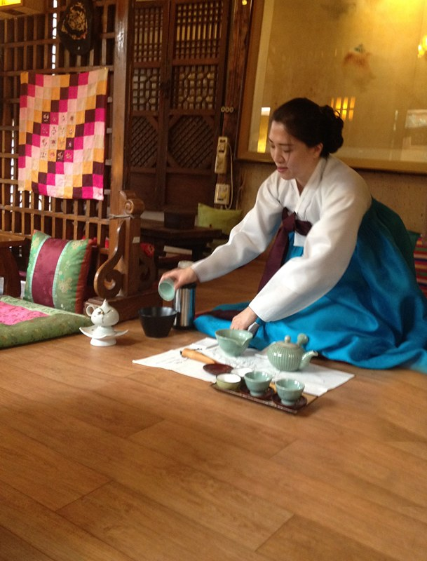 Tea Ceremony, Seoul, Korea