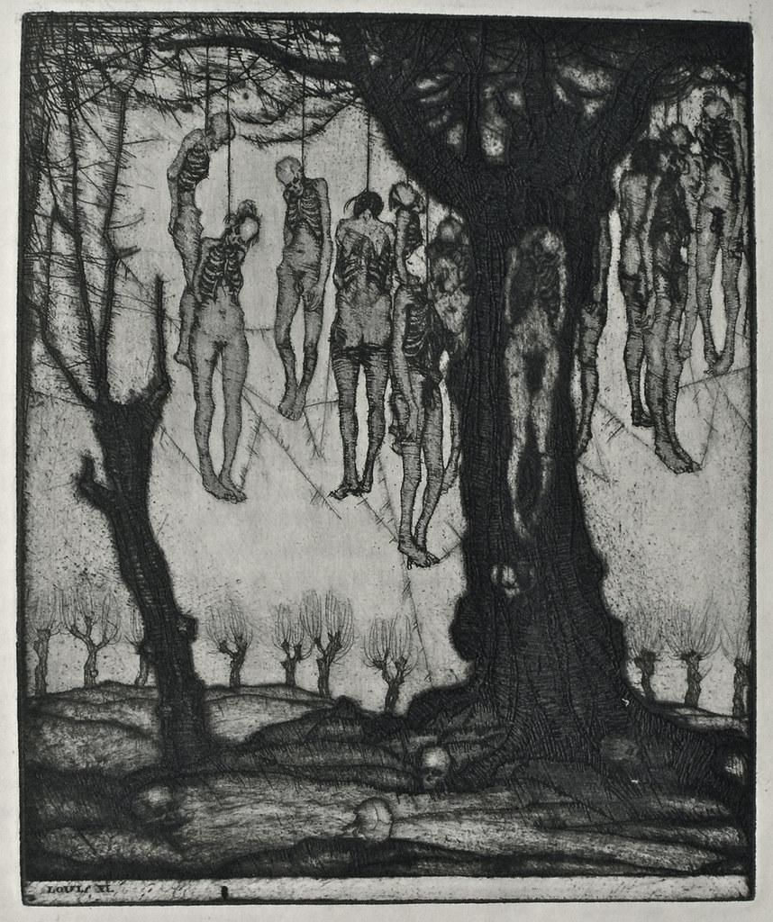 Stefan Eggeler - Illustrations for Hanns Heinz Ewers's Die Herzen der Könige, 1922 (1)