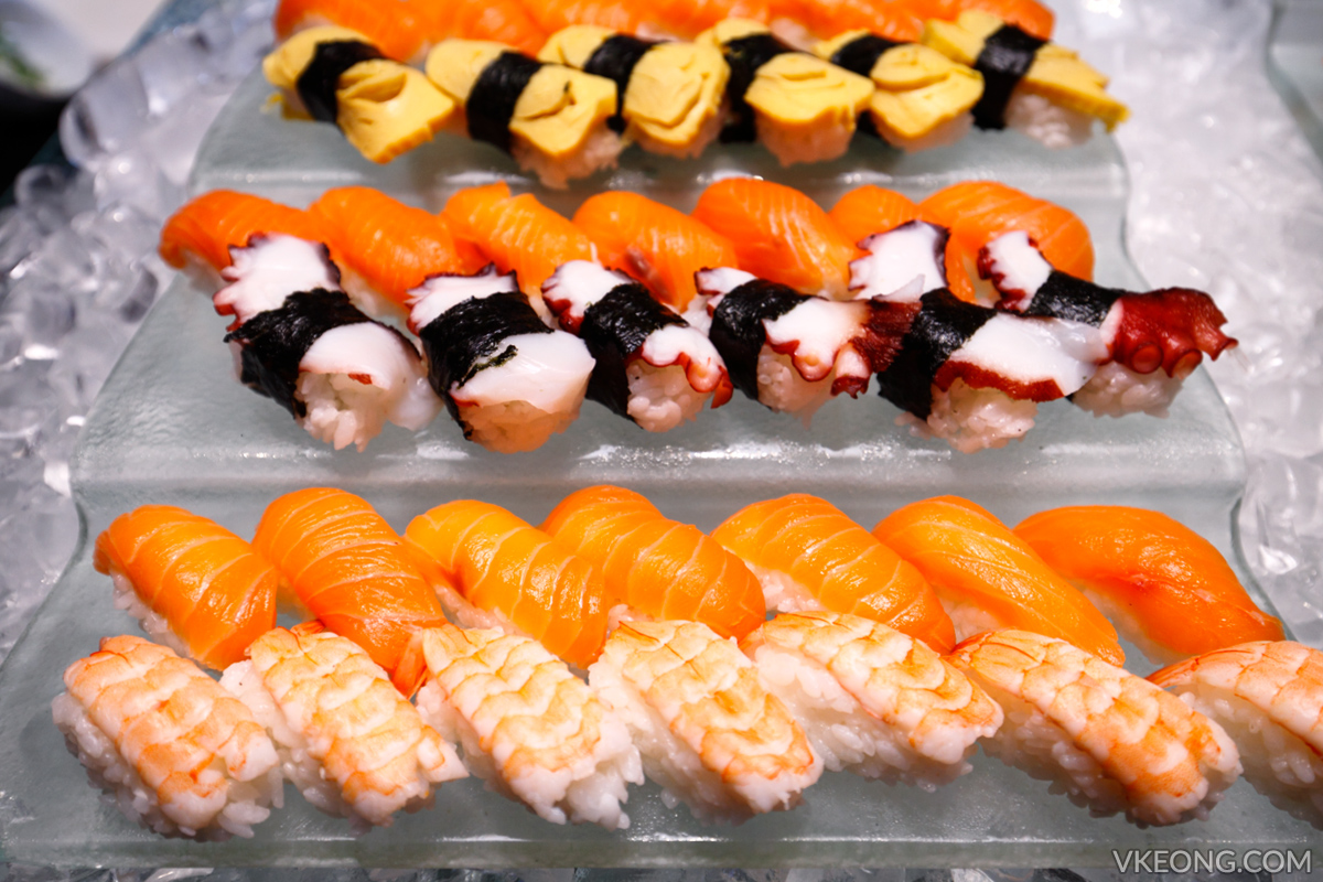 Edge Hilton Pattaya Buffet Sushi