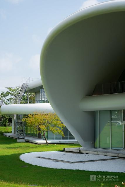 Exterior of TOTO Museum (TOTOミュージアム)