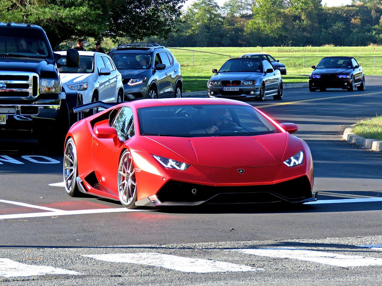 Slammed Lamborghini Huracan 3