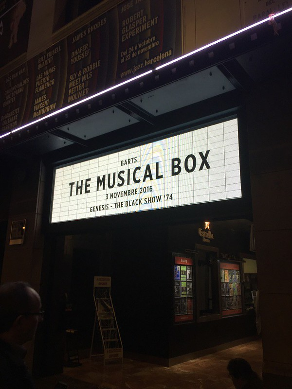 The Musical Box 2016