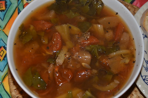 vegetable soup Oct 16
