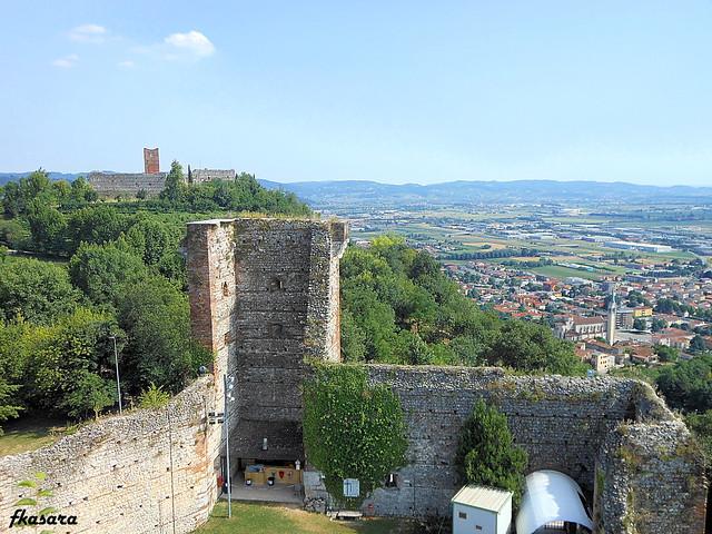 View, Castles in Montecchio Maggiore