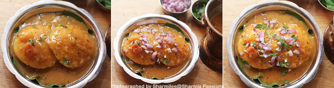 How to make Sambar Idli Recipe - Step4