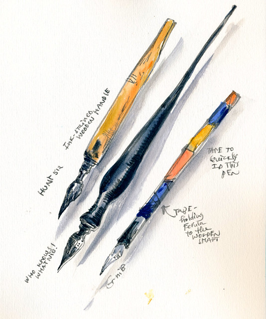 Sketchbook #100: Tools and Treasures