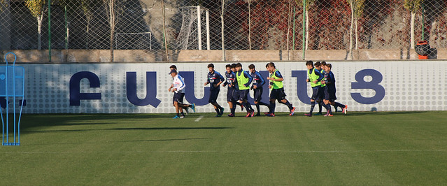 Italy U19 training In Banants