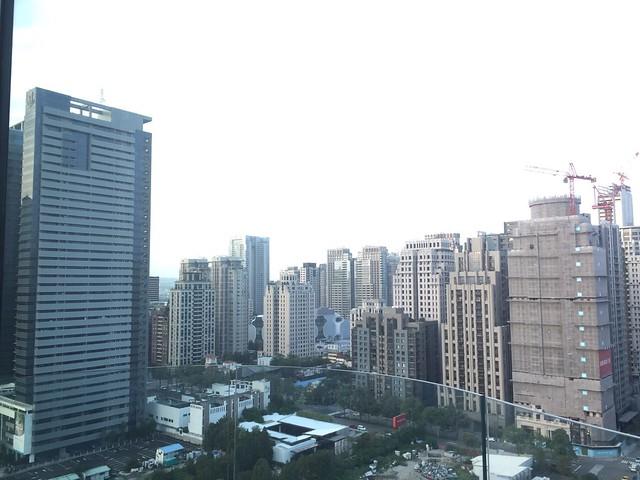 21樓的日景@台中日月千禧酒店