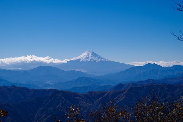 富士山@三頭山(西峰)