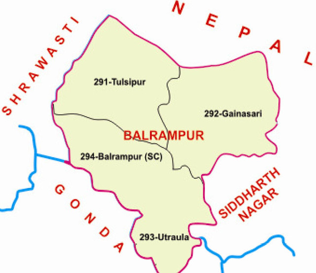Balrampur district Uttar Pradesh Election 2017