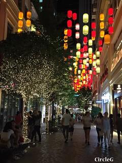 CIRCLEG 遊記 香港 灣仔 銅鑼灣 利東街 合和中心對面 燈籠 靚景 似旅行 聖誕 (7)