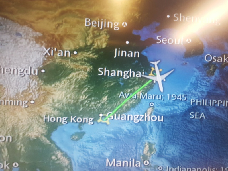 Shanghai to Hong Kong