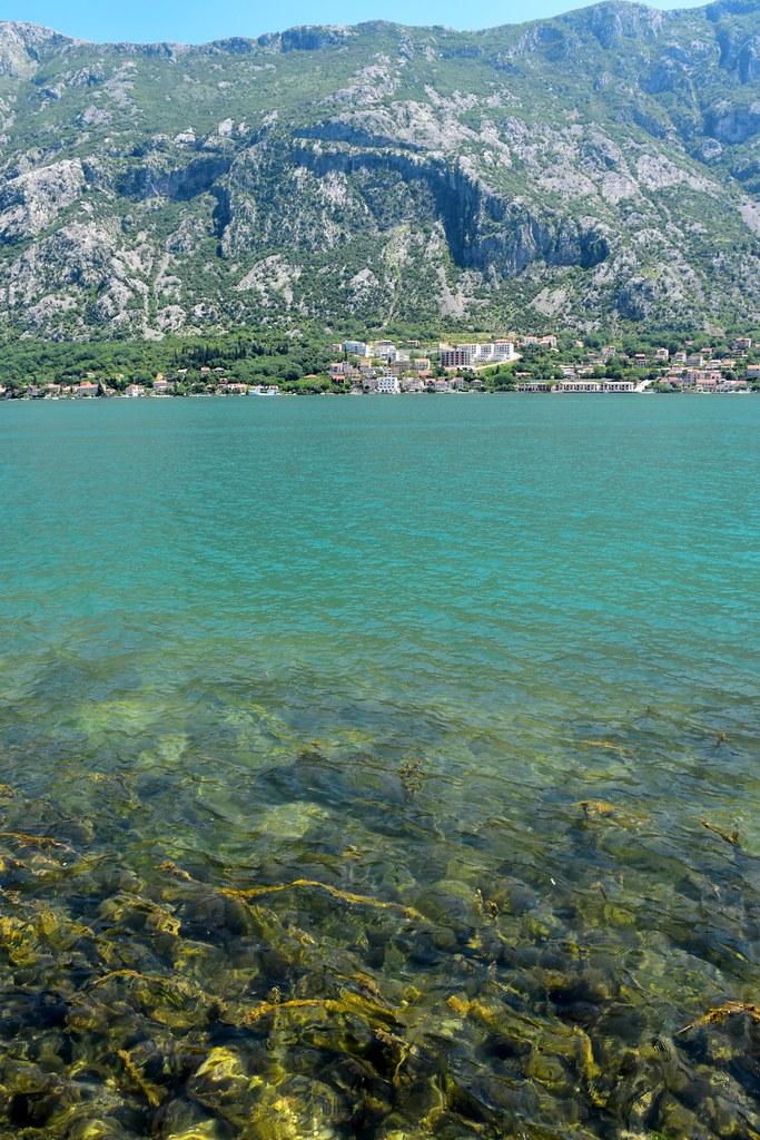 Kotor Bay water