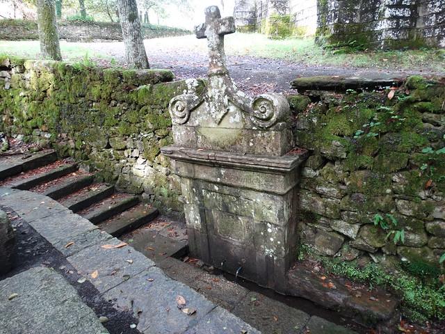 Fuente de San Alberte en Guitiriz