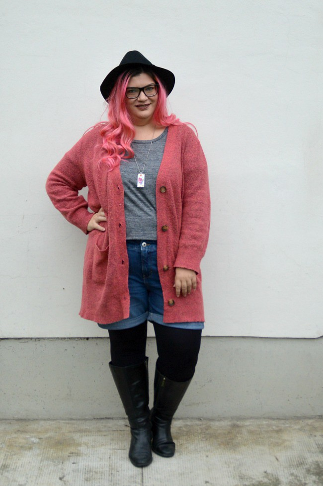 Plus size hipster outfit (6)