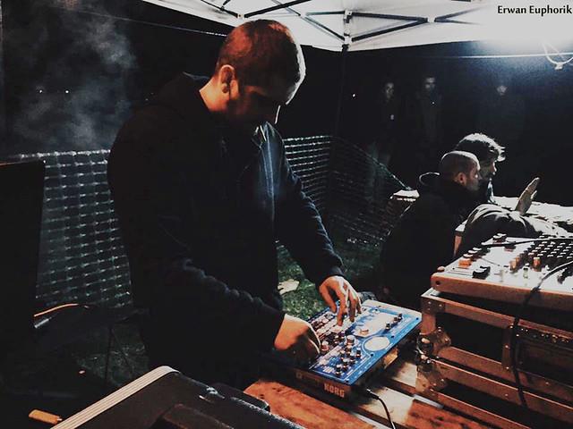 Euphorik sound system live musique copie