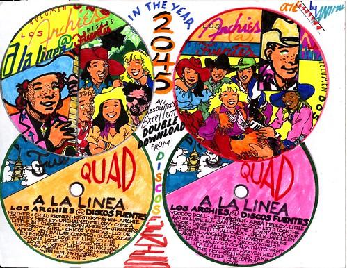 A LA LINEA VOLS 1 & 2
