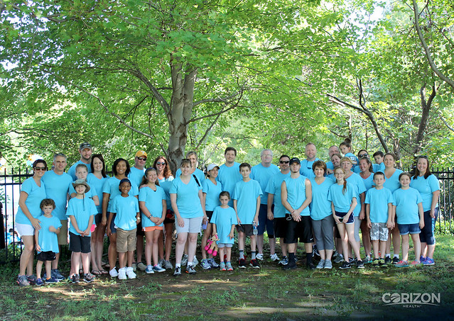 Healthcare Support Teams in Tennessee, Missouri participate in JDRF One Walk