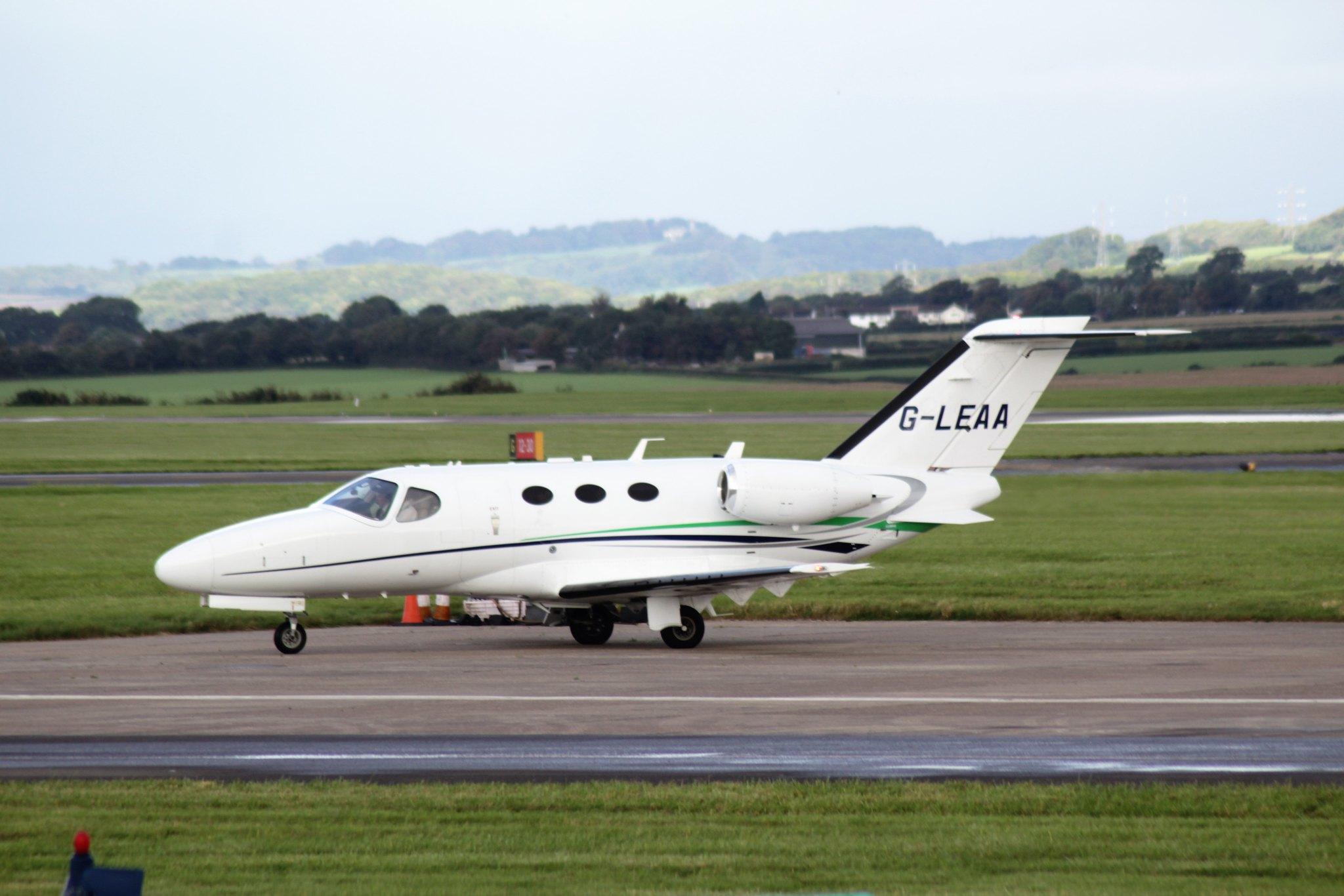 Cessna 510 Citation Mustang G-LEAA 01OCT16