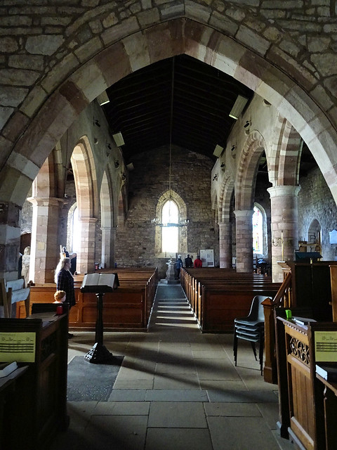 St Mary's from altar