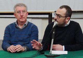 Il sindaco Coppi e il segretario Gravinese