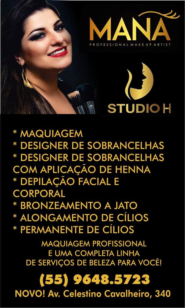 Anúncio Mana - Studio H - novo