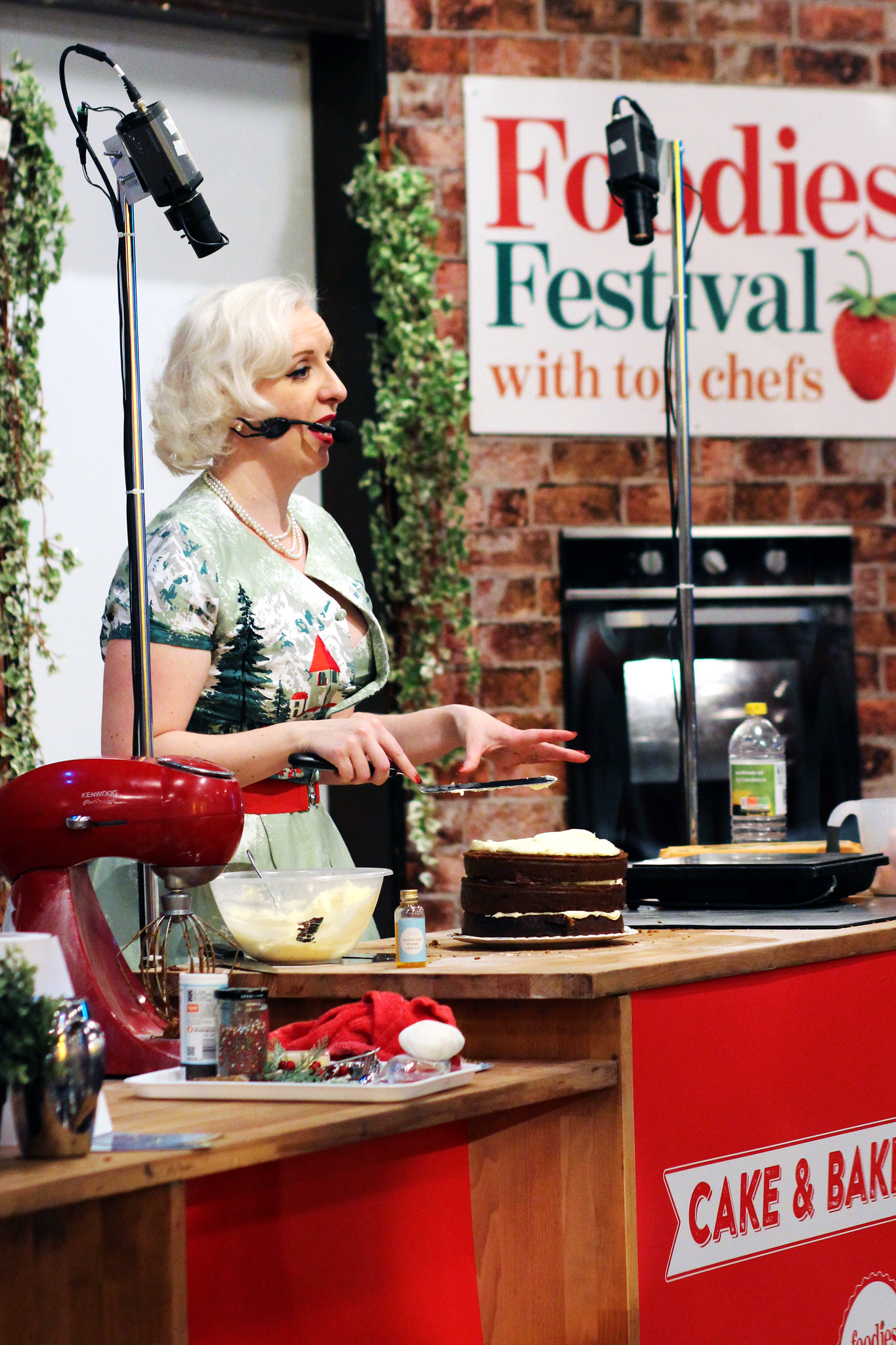 Foodies Festival Edinburgh Christmas lifestyle blogger The Little Things