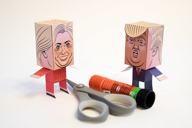 Trump - Clinton-4