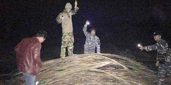 Tim WFQR Lantamal IV, Gagalkan Pencurian 20 Ton Kabel Bawah Laut Pulau Bintan.