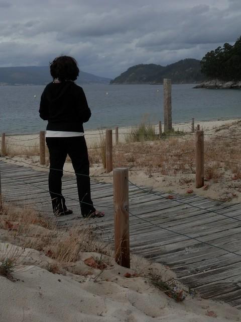 Mirando la mar