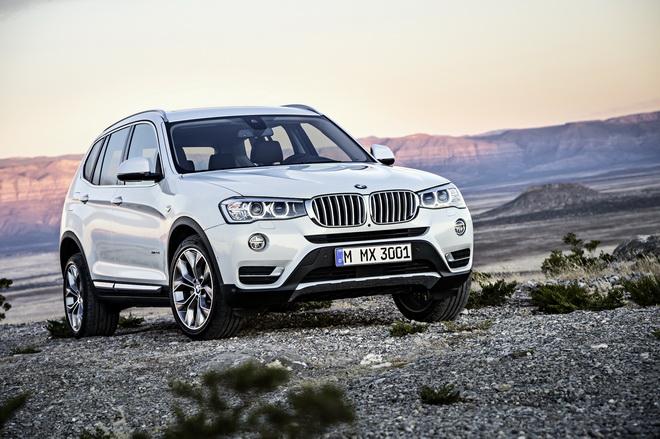 [新聞照片二]2017年式BMW X3特定車型升級標準配備Nevada真皮內裝與V輻式18吋輪圈