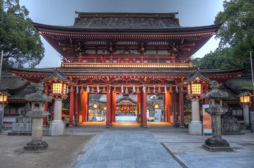 Dazaifu Tenmangu Shrine in early morning on NOV 26, 2016 vol02 (3)